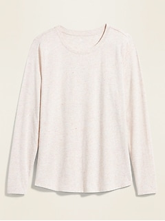 EveryWear Crew-Neck Long-Sleeve Tee for Women