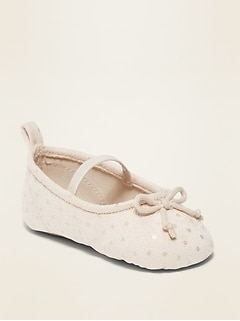 Faux-Suede Ballet Flats for Baby