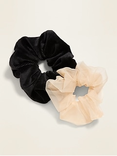 Hair Scrunchie 2-Pack for Women