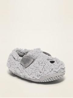 Pantoufles à motif de bestiole pour tout-petit et bébé