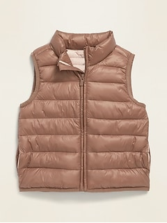 Unisex Frost-Free Puffer Vest for Toddler