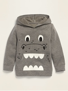 Unisex Graphic Pullover Hoodie for Toddlers