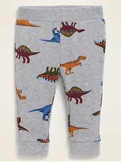 Dino-Print Leggings for Baby