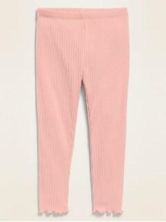 Rib-Knit Leggings for Toddler Girls
