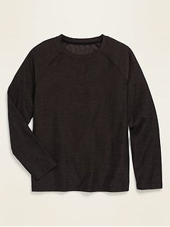 Ultra-Soft Breathe ON Long-Sleeve Tee for Boys