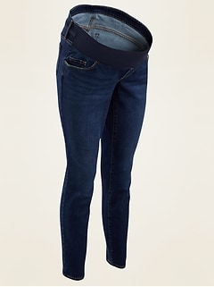 Maternity Front-Low Panel Skinny Jeans