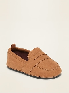Faux-Suede Loafers for Baby