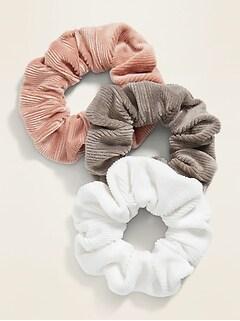 Chouchou à cheveux pour femme (paquet de3)
