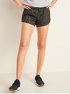 Dolphin-Hem Run Shorts for Women -- 3-inch inseam