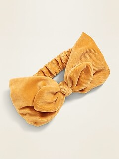 Bow-Tie Head Wrap for Toddler Girls