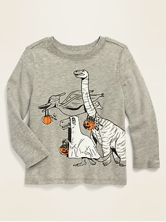 Unisex Long-Sleeve Graphic Tee for Toddler