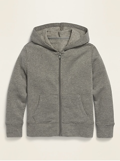 Soft-Washed Zip Hoodie for Girls
