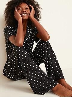 Jersey Pajama Set for Women