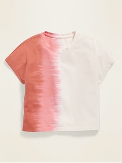 POPSUGAR x Old Navy Dip-Dyed Cropped Tee