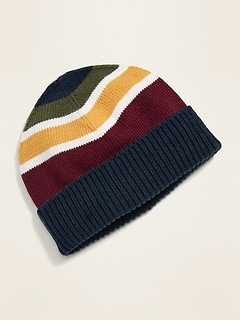 Unisex Sweater-Knit Beanie for Toddler