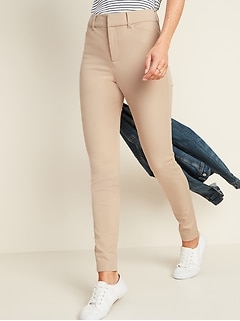 All-New High-Waisted Pixie Full-Length Pants for Women