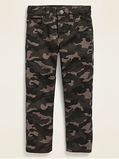 Karate Built-In Flex Max Camo-Print Skinny Jeans for Toddler Boys