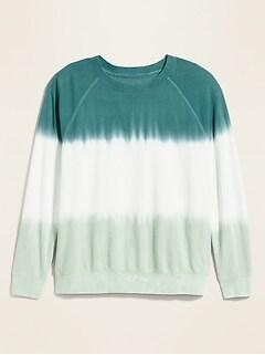 Vintage Crew-Neck Plus-Size Sweatshirt