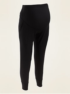 Maternity Full-Panel Elevate Powersoft 7/8-Length Jogger Pants