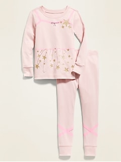 Ballerina Costume Pajamas for Toddler Girl & Baby