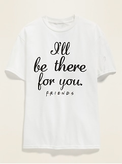 Friends™ Graphic Gender-Neutral Tee for Kids