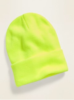Sweater-Knit Cuffed Gender-Neutral Beanie for Men & Women