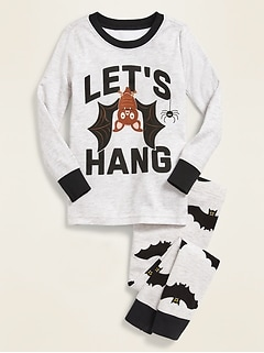 Halloween Graphic Pajama Set for Toddler & Baby