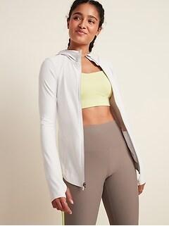 Veste de course à glissière Powersoft pour femme