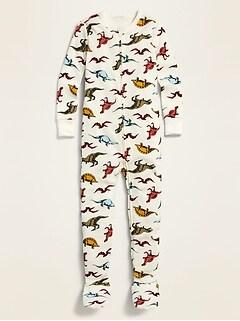 Pyjama une-pièce à pieds pour tout-petit et bébé