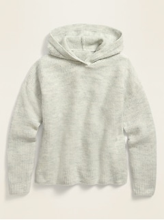 Thermal Pullover Hoodie for Girls