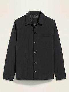 Water-Resistant Nylon Shirt-Jacket for Men