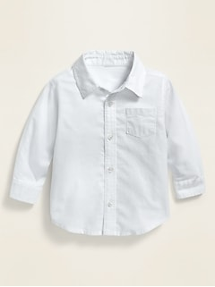 Unisex Oxford Pocket Shirt for Baby