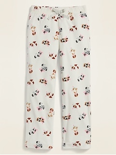 Printed Micro Performance Fleece Pajama Pants for Girls