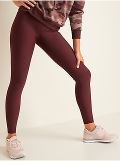 High-Waisted Elevate Powersoft Side-Pocket Leggings for Women