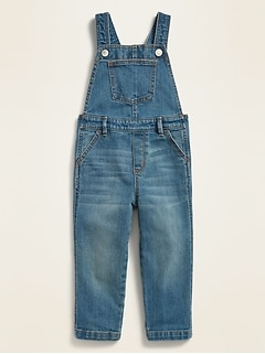 Unisex Jean Overalls for Toddler