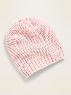 Unisex Sweater-Knit Beanie for Baby