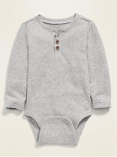 Unisex Henley Bodysuit for Baby