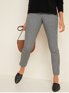 High-Waisted Super Skinny Ankle Pants for Women