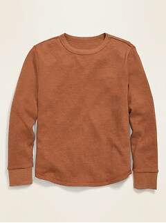 Long-Sleeve Thermal Tee for Boys