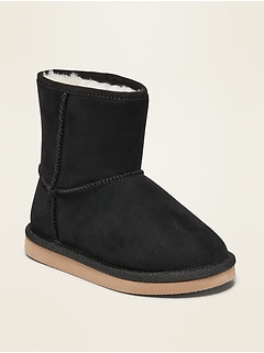 Faux-Suede Boots for Toddler Girls