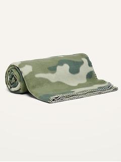 Couverture douillette en molleton Performance Fleece à motifs