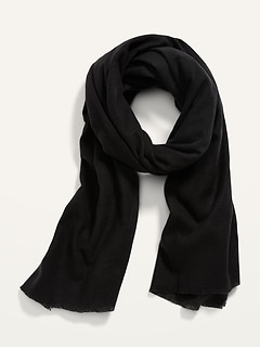 Soft-Brushed Flannel Scarf for Women