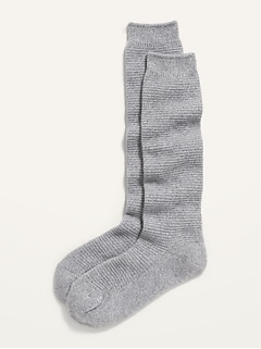 Cozy Textured Boot Socks for Women