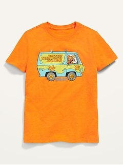 Licensed Pop-Culture Graphic Gender-Neutral Tee for Kids