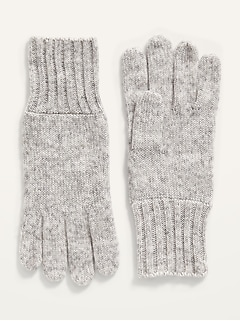 Cozy Sweater-Knit Gloves for Women