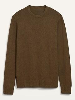 Cozy Crew-Neck Sweater for Men