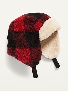 Unisex Sherpa Trapper Hat for Toddler