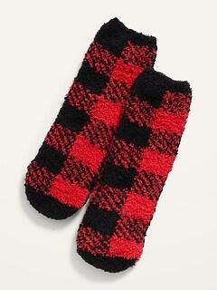 Chaussettes douillettes à imprimé unisexe pour enfant