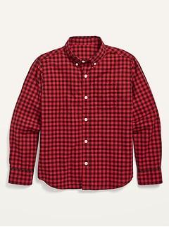 Chemise à poche en popeline Built-In Flex pour garçon