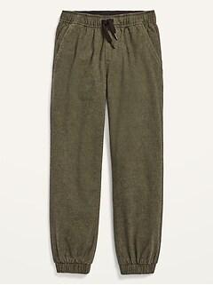 Pantalon d'entraînement en sergé pour garçon